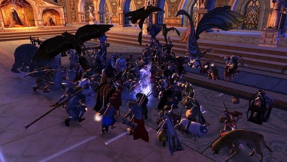 Игроки в The Lord of the Rings Online почтили память актёра Иэна Холма