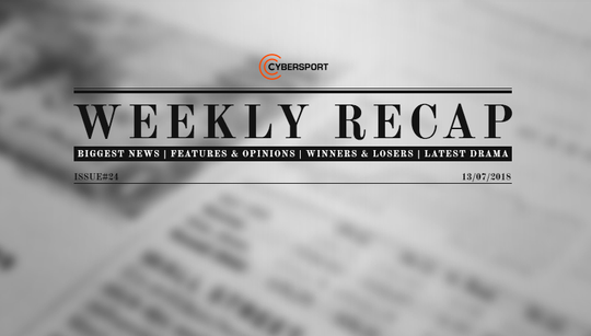 Big money and big moves: Weekly Recap