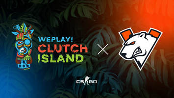 Virtus.pro will play in WePlay! Clutch Island