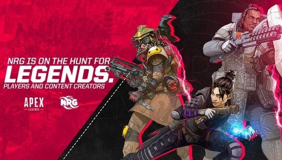 NRG eSports ищет игроков в состав по Apex Legends