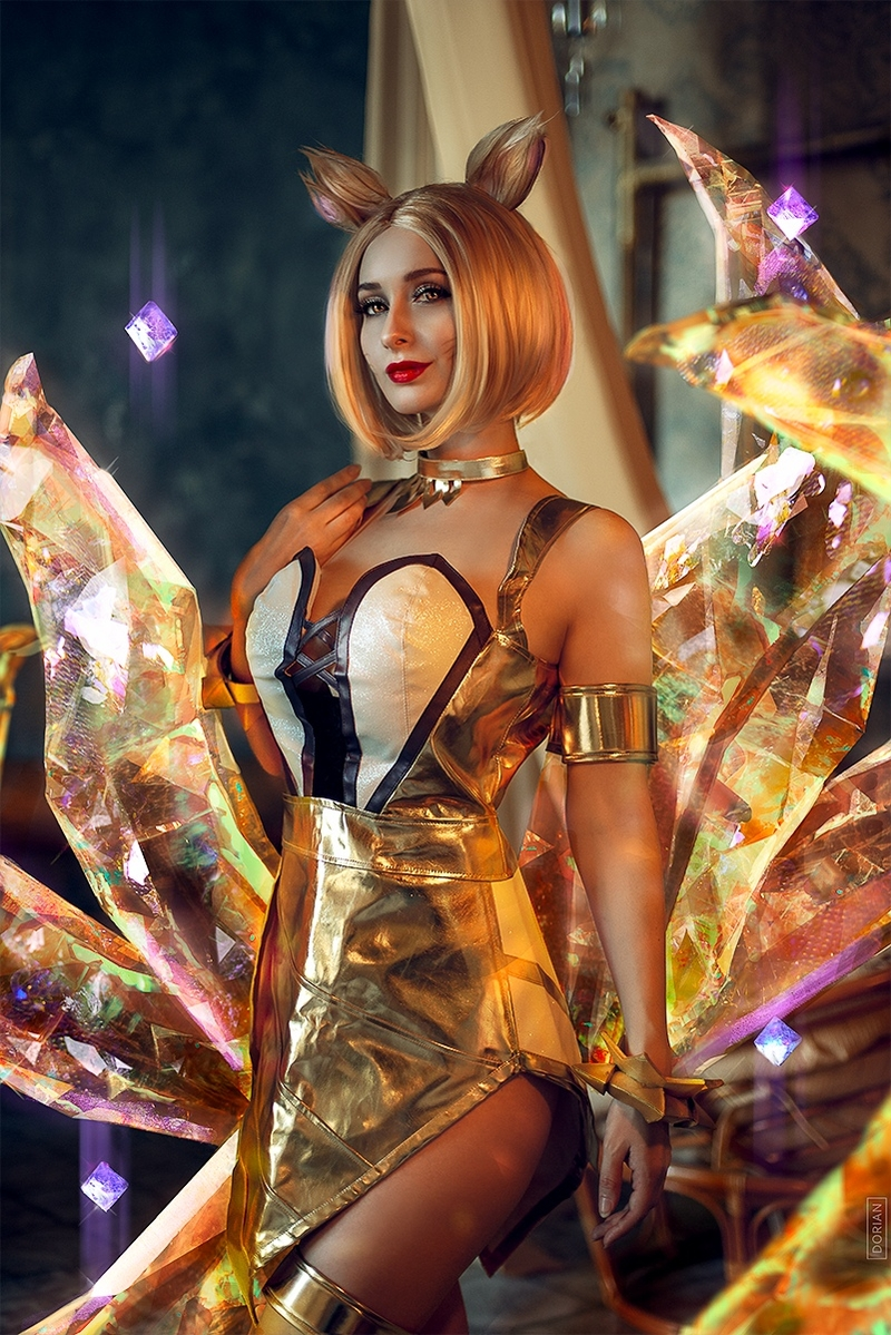 Косплей на Ahri | Источник: vk.com/cosplay.world