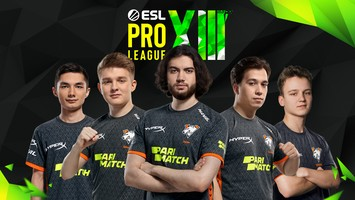 Virtus.pro занимает 7-8 место на ESL Pro League Season 13