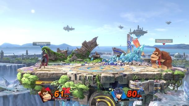 Геймплей Super Smash Bros Ultimate