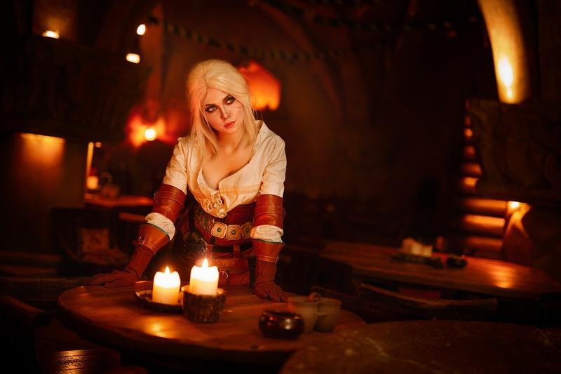 Косплей на Цири из The Witcher 3: Wild Hunt. Косплеер: Илона Бугаева. Фотограф: Eugene Art. Photograph. Источник: https://twitter.com/IlonaBugaeva