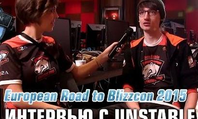 Road to BlizzCon: Интервью с Unnstable