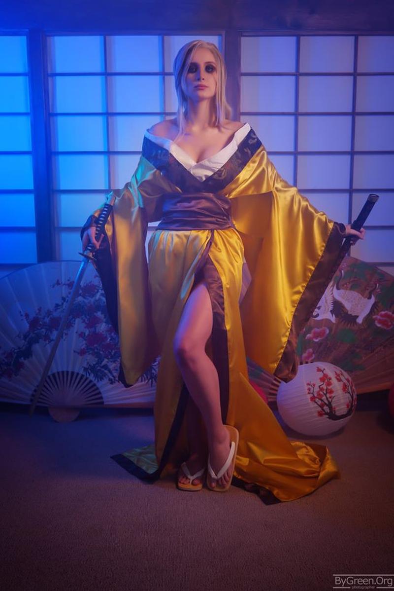 Косплей на японскую версию Цири из The Witcher 3. Косплеер: Mari Evans. Источник: twitter.com/witchergame