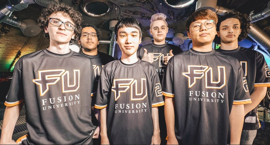 Fusion University jerseys cause controversy at Overwatch Contenders NA finals