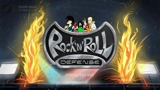 Pro игры (#16) Rock 'N' Roll Defense