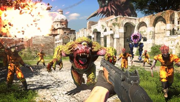 Еще больше взрывов и жутких монстров — новый геймплейный трейлер Serious Sam 4