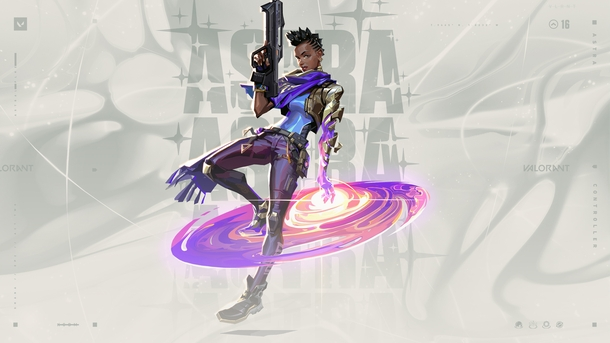 Astra из Valorant. Источник: Riot Games