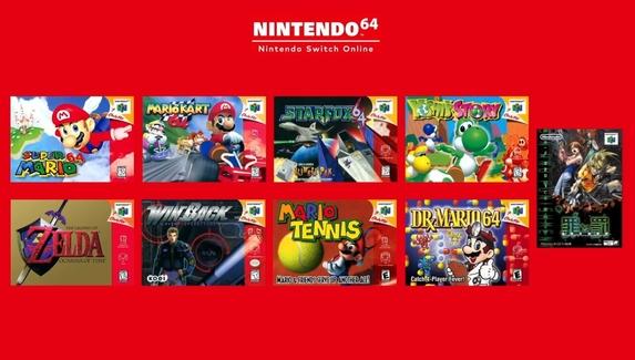 В подписку Nintendo Switch Online войдут игры для N64 и Sega Mega Drive
