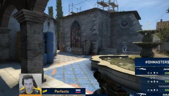 Perfecto уничтожил Virtus.pro — сделал эйс в эко-раунде, выиграв клатч 1v3