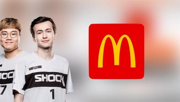McDonald's стал спонсором американской команды по Overwatch