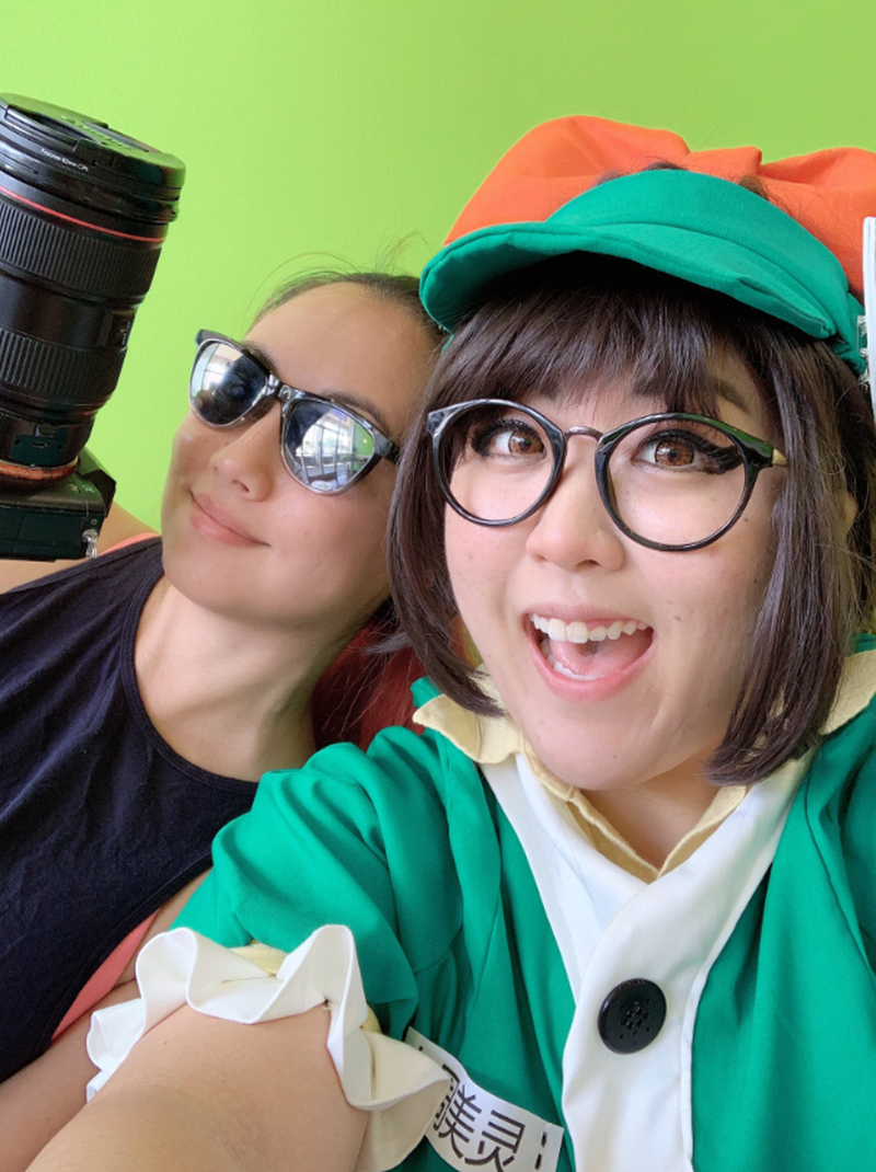 Sado Cosplay — Honeydew Mei