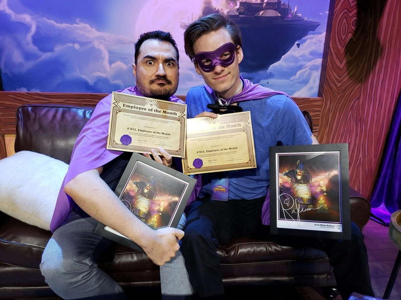 SilverName и ShtanUdachi стали косплеерами — как прошел шоу‑турнир по Hearthstone