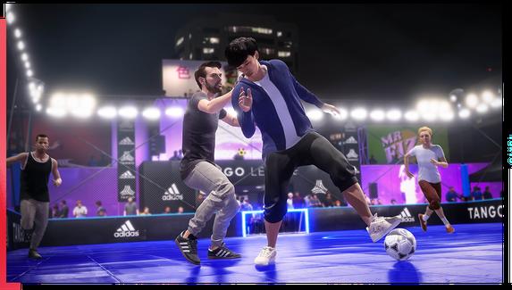 В FIFA 20 можно будет сыграть в уличный футбол