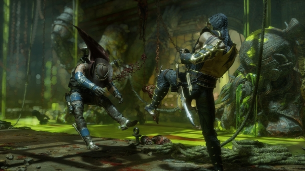 MK11: Scorpion VS Erron Black