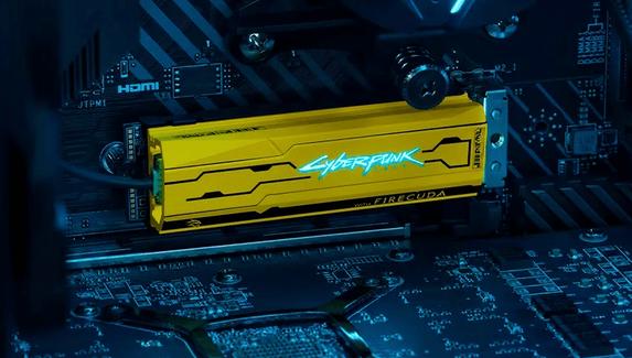 Seagate выпустит SSD в стиле Cyberpunk 2077