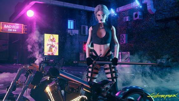Игроки в Cyberpunk 2077 нашли ласточку — они думают, что это отсылка к Цири из The Witcher3