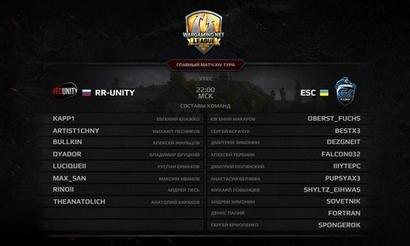Матч тура: ESC ICY BOX против RR-Unity