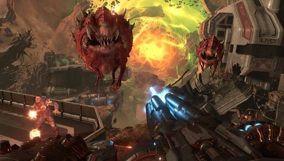 Doom Eternal получит поддержку трассировки лучей и DLSS