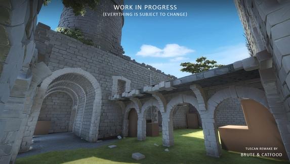 В CS:GO началось открытое тестирование обновленной Tuscan