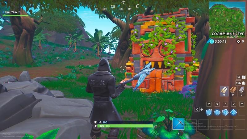 Новые строения в лесу