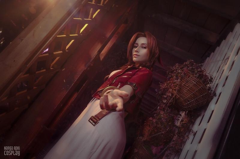 Айрис Гейнсборо из Final Fantasy VII. Косплеер: Наталья Narga Кочеткова. Фотограф: Фёкла Баклажанова / barabaka. Источник: vk.com/lifestream_cosplay