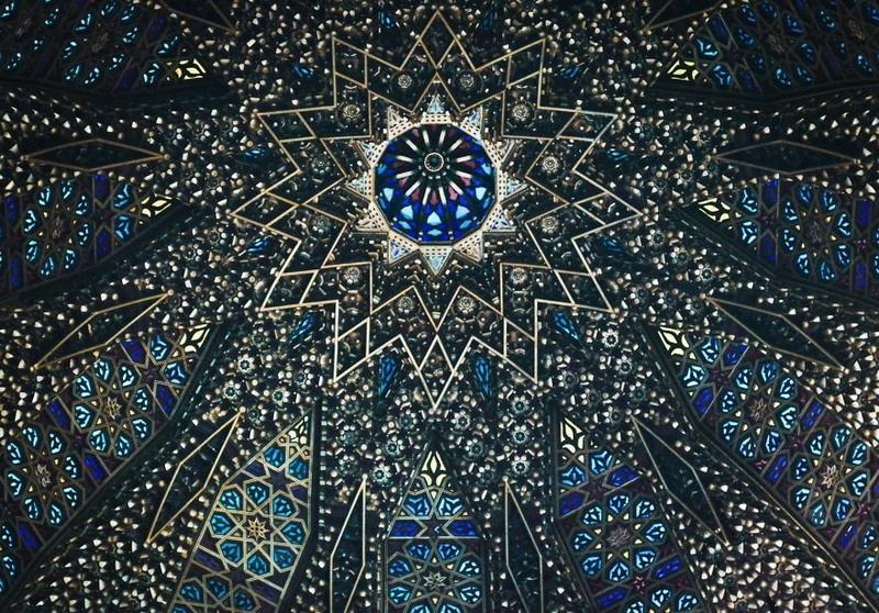 Купол мечети в Марокко