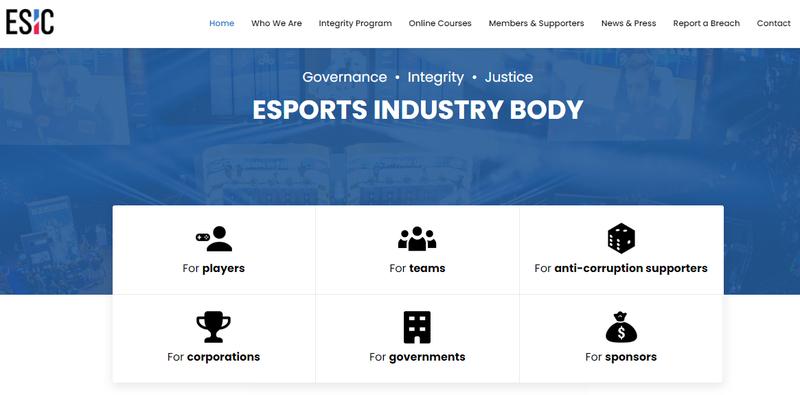 Сайт ESIC