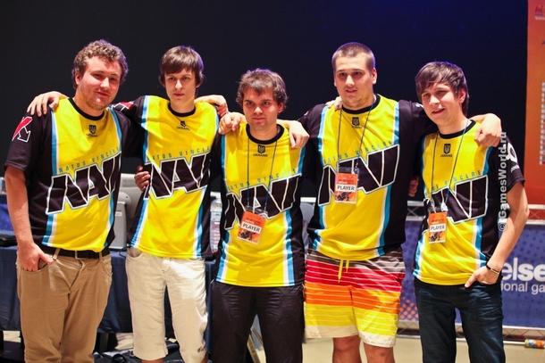 Команда Navi образца 2010 года.