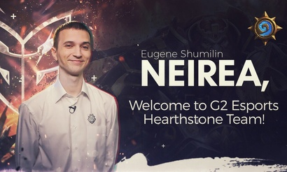 Neirea присоединился к G2 Esports