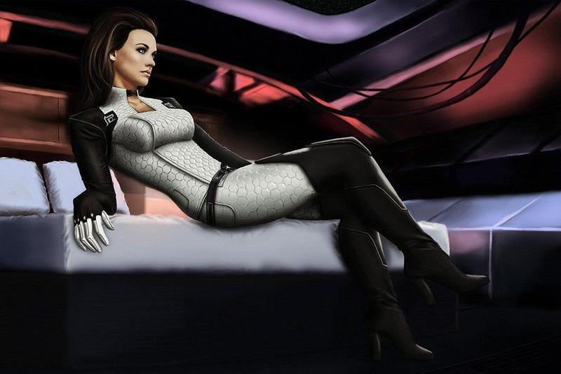 Миранда Лоусон из Mass Effect
