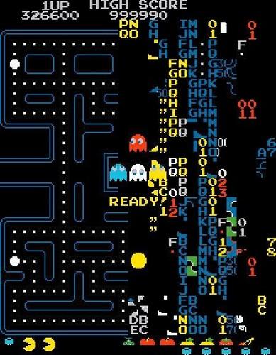 «Экран смерти» в Pac-Man