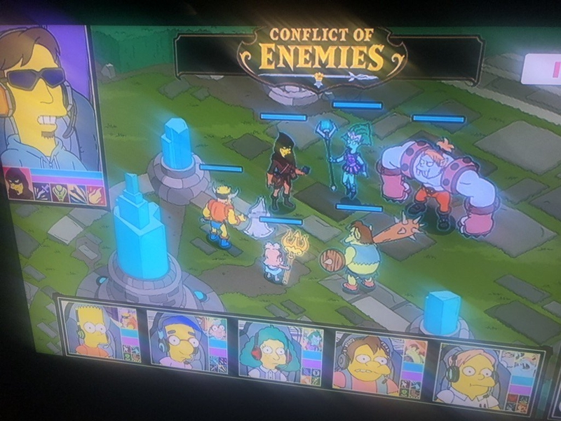 Игра Conflict of Enemies очень напоминает League of Legends