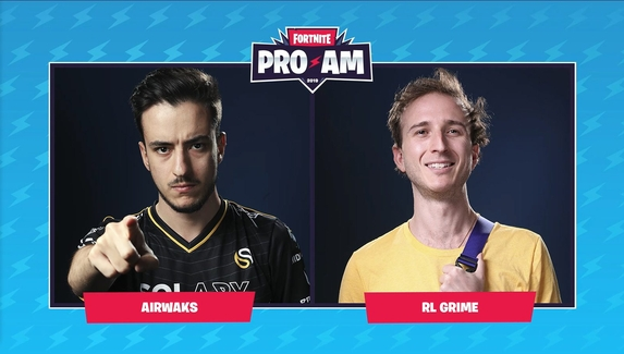 Airwaks и RL Grime стали чемпионами Fortnite Celebrity Pro-Am 2019