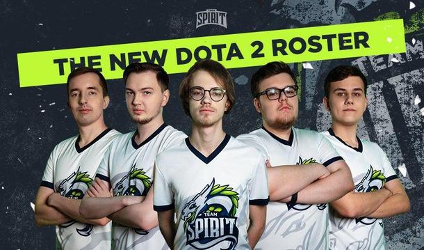 Состав Team Spirit: Ghostik, Immersion, Misha, ergon и iLTW | Фото: teamspirit.ru