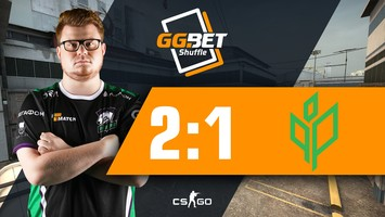 Virtus.pro побеждает Sprout на GG.BET Shuffle