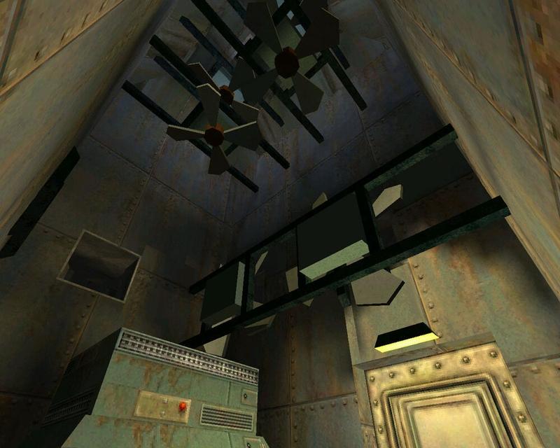 Система вентиляции на уровне «Охранный комплекс»