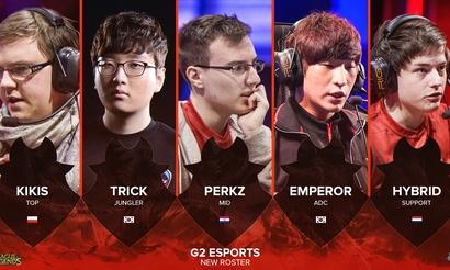Состав G2 Esports пополнился двумя корейцами