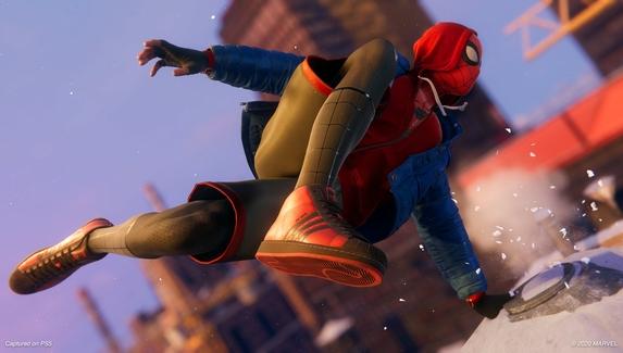 Adidas выпустит кроссовки Человека-паука из Spider-Man: Miles Morales