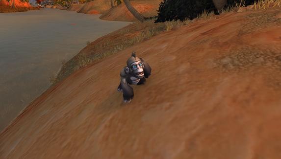 Все игроки в World of Warcraft получили бесплатного питомца — обезьяну Бананчика