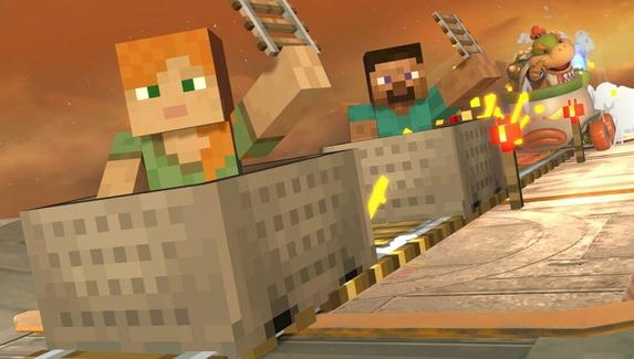 Главные герои Minecraft станут бойцами в Super Smash Bros. Ultimate