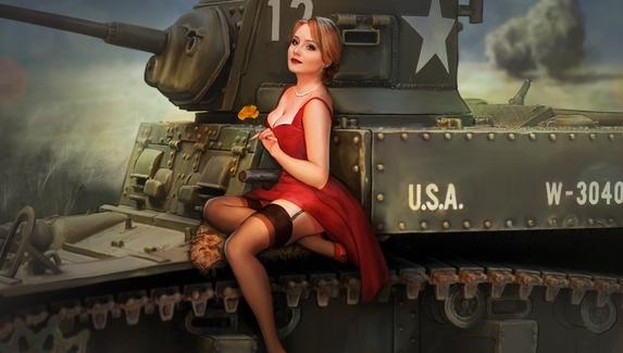 Разработчики помогли стримеру сделать предложение девушке в World of Tanks Blitz