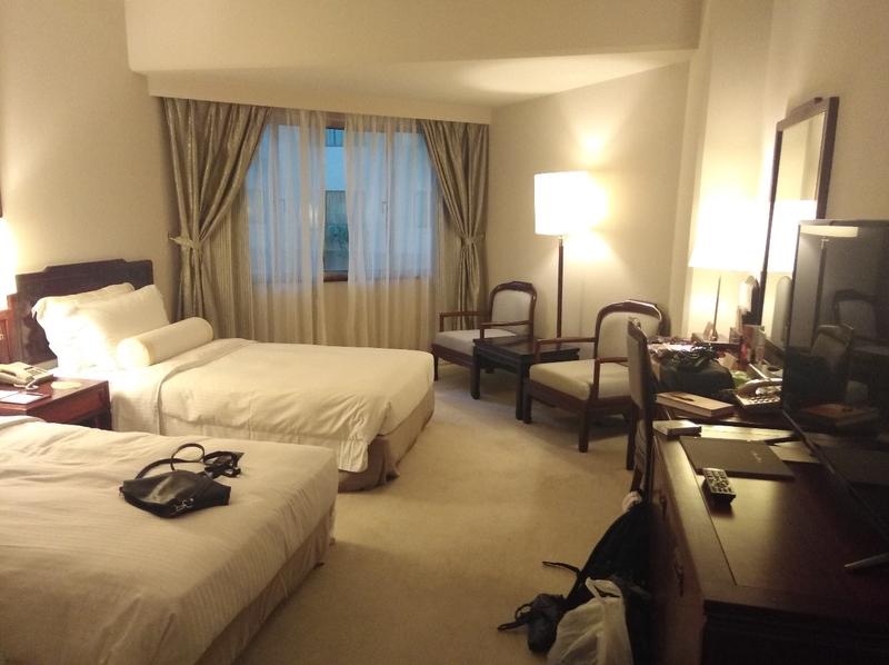 Заселяюсь в отель...