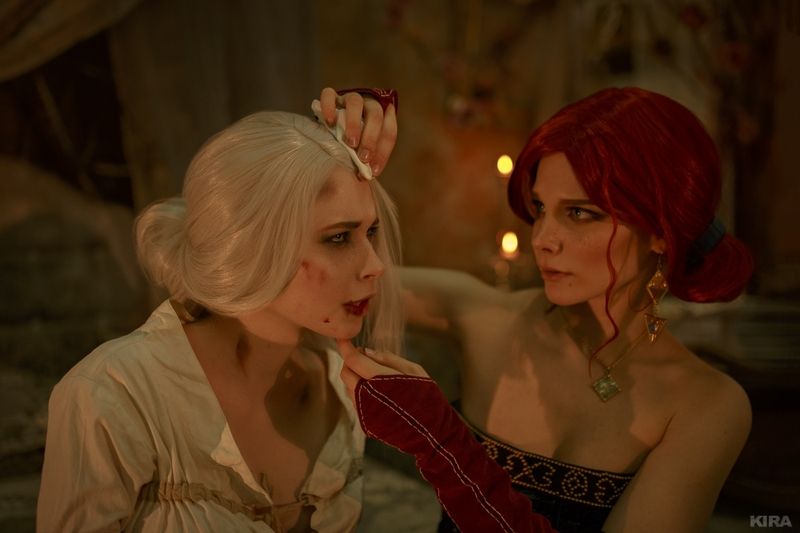 Косплей на Цири из The Witcher 3: Wild Hunt. Косплееры: Мария Журавлёва и Александра Реил. Источник: vk.com/cosplay.world