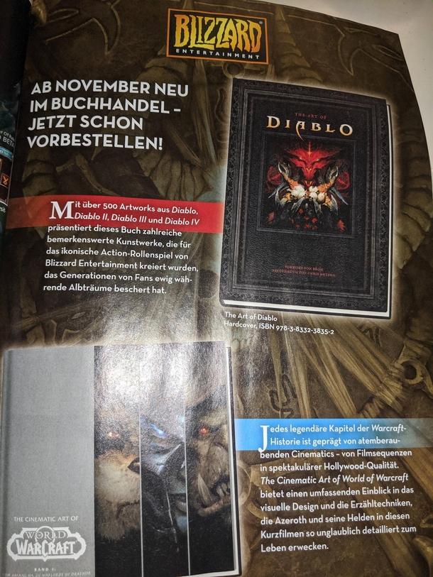 Источник: reddit.com/r/Diablo/comments/djv9ke/add_for_the_art_of_diablo_from_blizzard_in/
