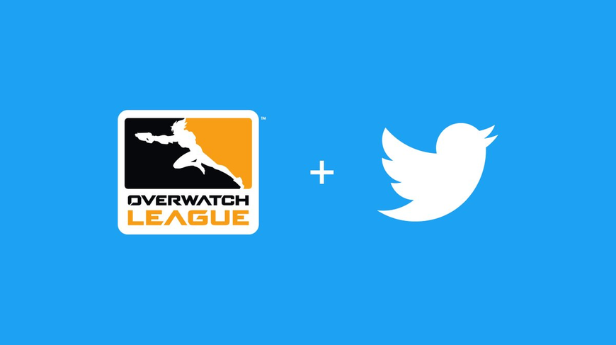 Overwatch League announce partnership with Twitter