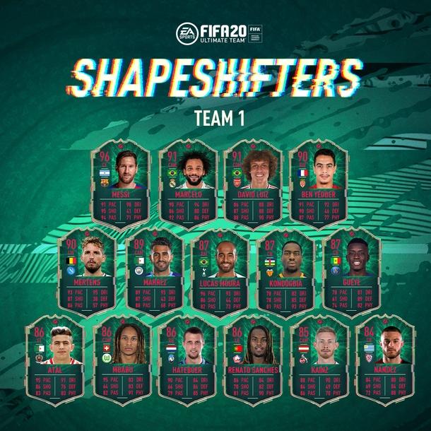 Первая команда «Оборотней» в FIFA 20 Источник: EA Sports
