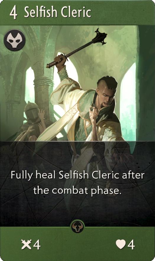 Selfish Cleric